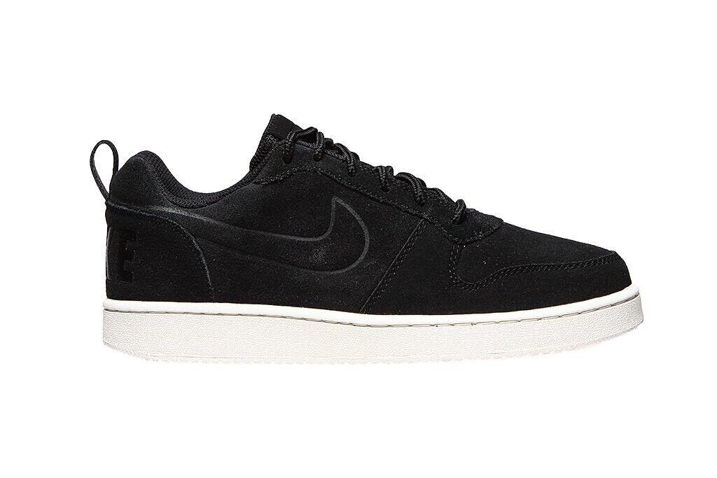 Nike Uomo Borough basso Prem Court Sautope Da Ginnastica Misura EUR 44.5 Nero 844881 007 Sautope classeiche da uomo