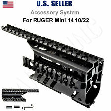 Ruger Mini 14 10/22 Scope Mount Accessory System - 2 PC Aluminum, Free Ship US