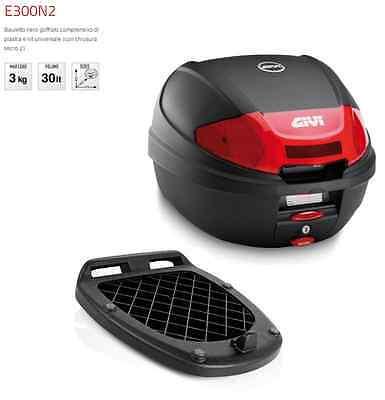 Givi E300n2 Kit Bauletto 30lt Piastra Universale Kymco Mxu 50 Design Professionale