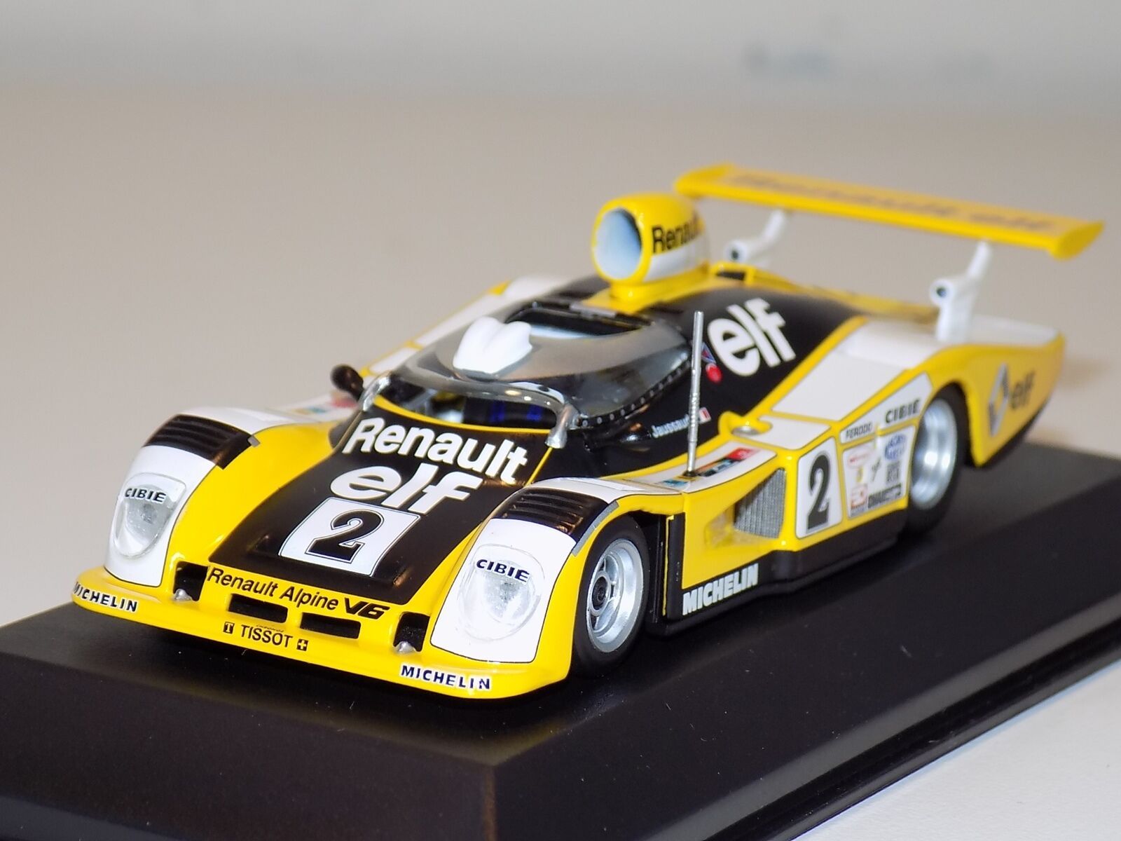 1 43 Minichamps Alpine Renault A442B voiture  2 24 H du Mans 1978 Pironi Jaussaud