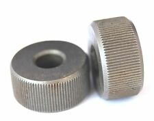 Pair of 3/4 Diameter HSS Knurls Fine KN07 For Lathe Knurling Tool Straight