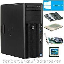 HP Z420 Workstation E5-2670 Xeon +RAM 48GB +SSD 128GB ++HDD 1TB +Quadro 600 +W10