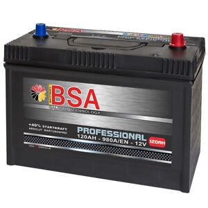 lkw batterie 120ah 980a en 12v shd starterbatterie. Black Bedroom Furniture Sets. Home Design Ideas