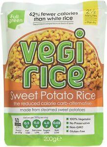 Vegi Rice Fullgreen Sweet Potato, 8 x 200 g 689744604615 ...
