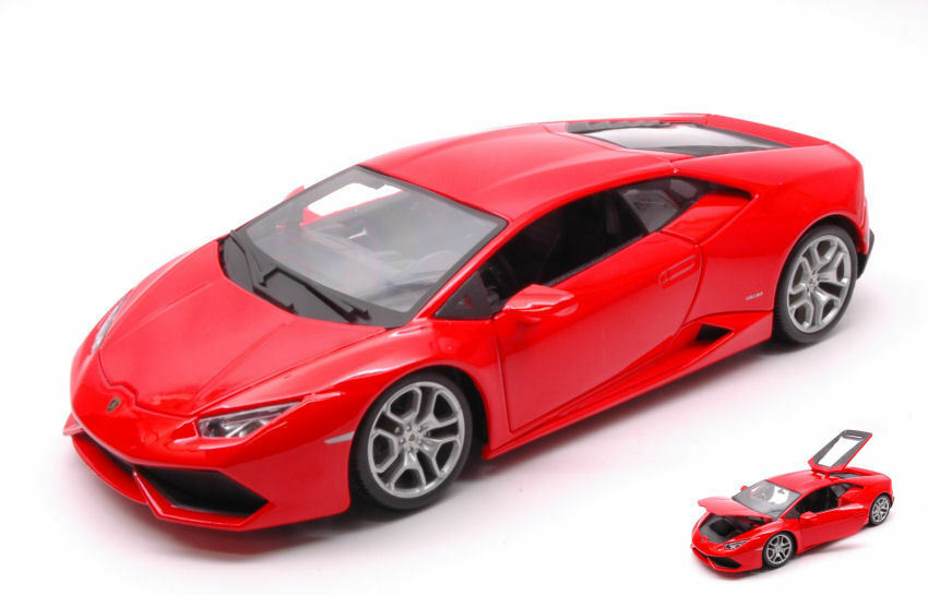 Lamborghini Huracan lp610-4 2014 rojo 1 18 MODEL BBURAGO