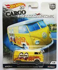 Volkswagen T1 Panel Bus Cargo Carriers Car Culture 1:64 Hot Wheels FLC14 FPY86