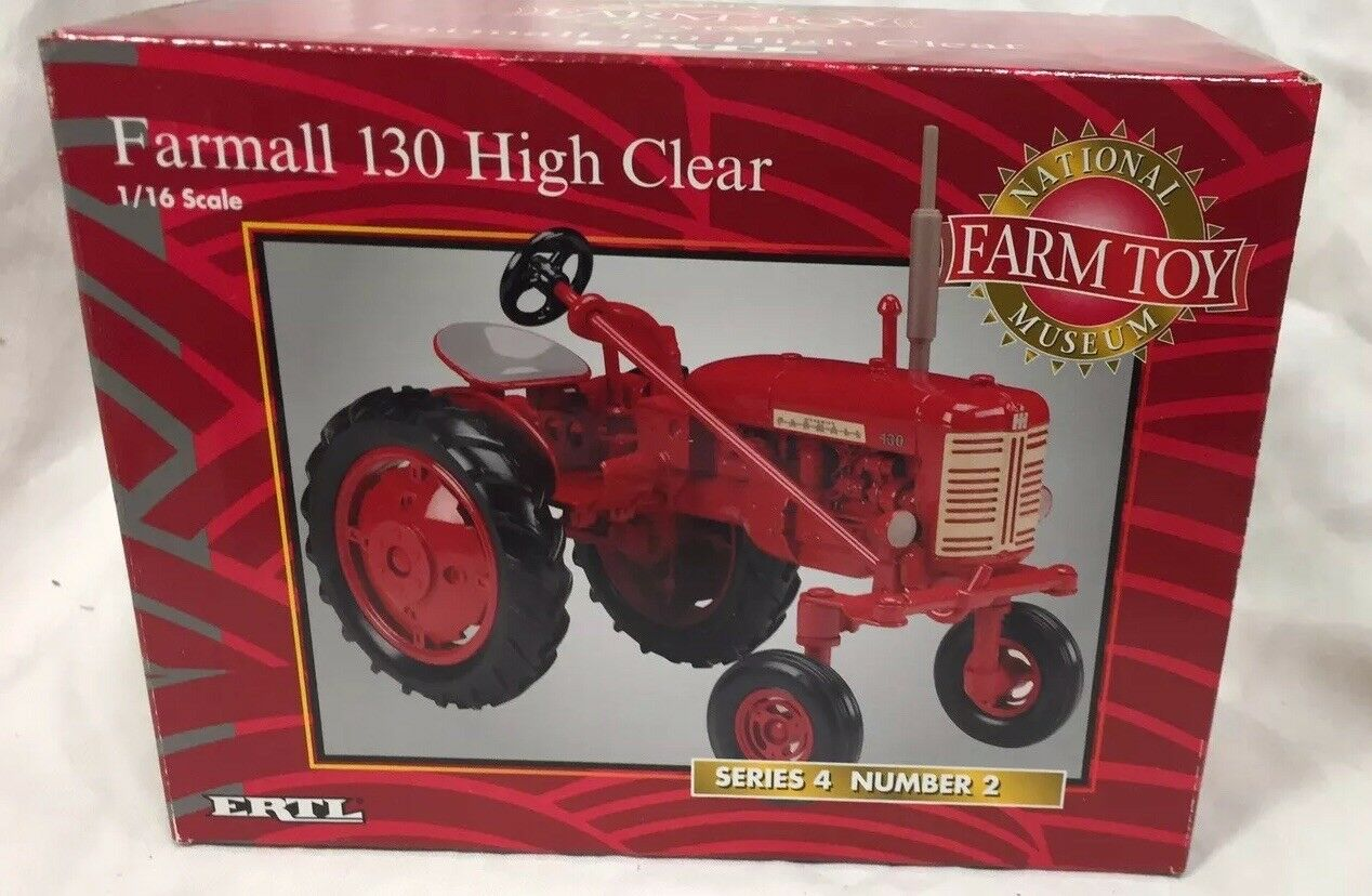 ERTL Farmall 130 High Clear National Farm Toy Museum Series 4 1 16 NIB