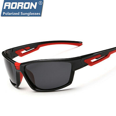 New Menss HD Polarized Sunglasses Outdoor sports Eyewear Cycling Bike Goggles