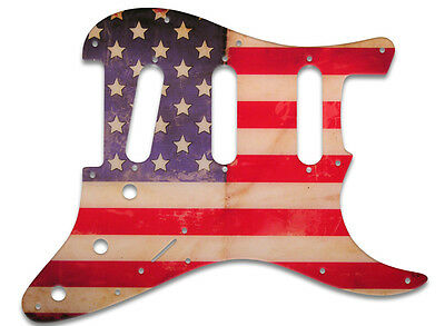 Pickguard for Fender Strat American Flag Relic ST-2G09 Right Hand Stratocaster