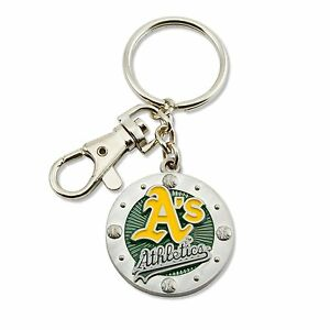 Oakland A's Impact Keychain