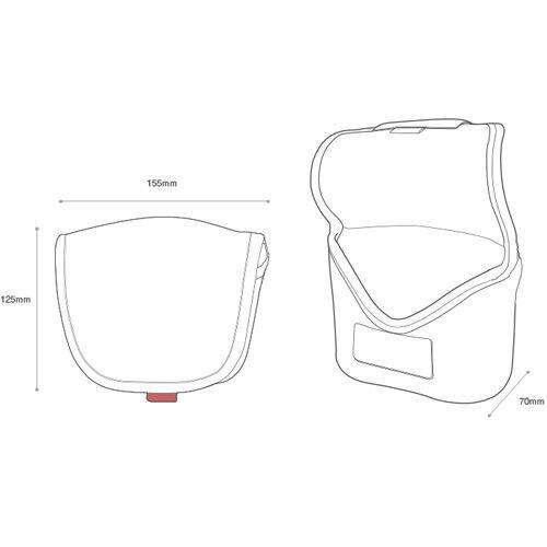 Cámara DSLR Canon 5Ds R Neopreno Cuerpo caso Manga Bolsa Cubierta Bolsa De Protección