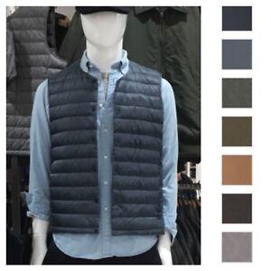 7f037bebb75 2018 AW UNIQLO Men Ultra Light Down Compact V neck Vest Pouch new ...