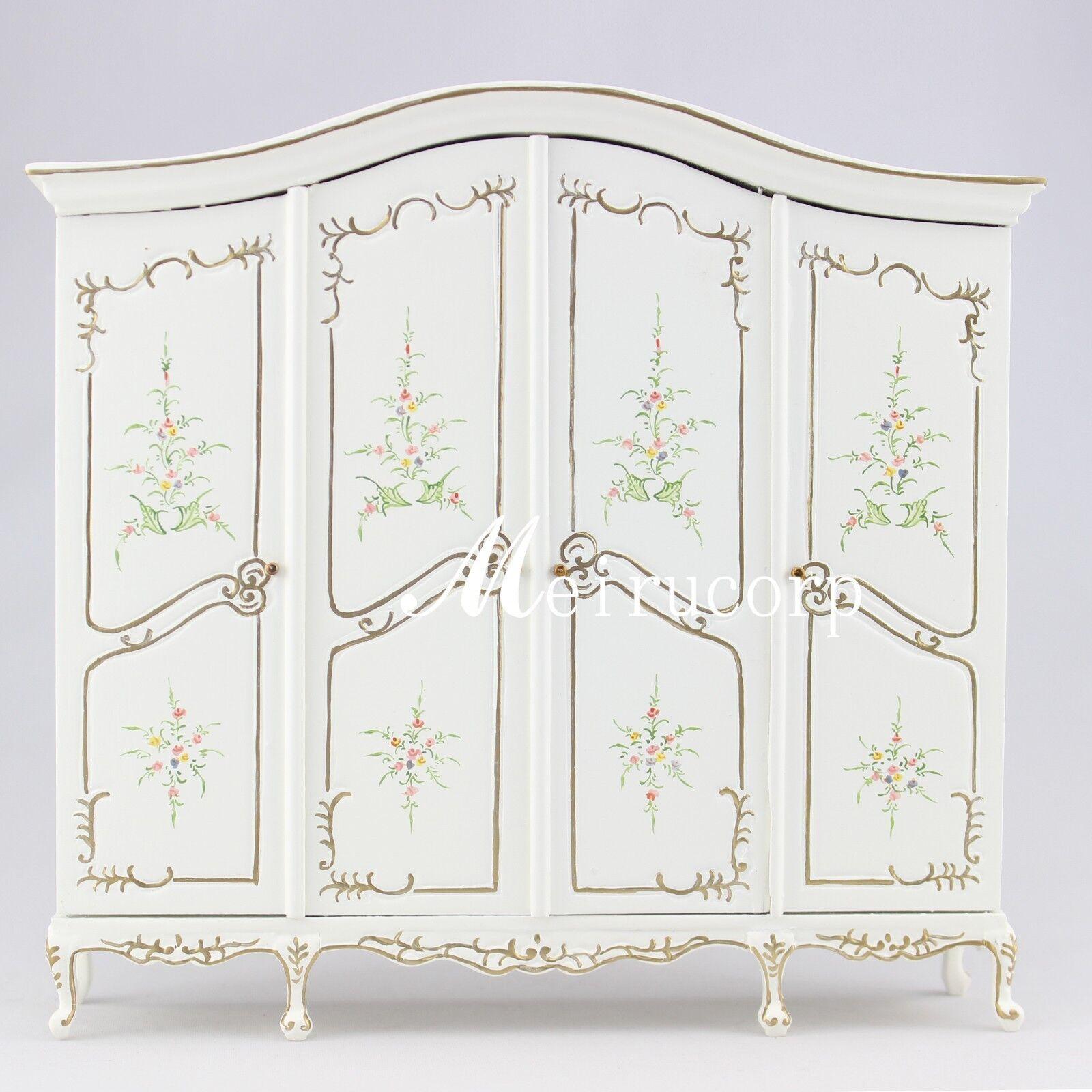 Dollhouse 1:12 scale Fine Miniature furniture grand bianca cabinet handcrafted