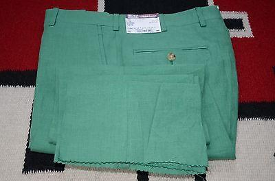 Polo Ralph Lauren Bradford Made in Italy 100% Linen Dress Pants