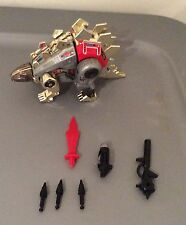 1985 Snarl Complete G1 Transformers Dinobot