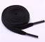 Boots Leisure Shoes Shoe Laces Black Flat 5mm Wide 120cm Long For Trainers