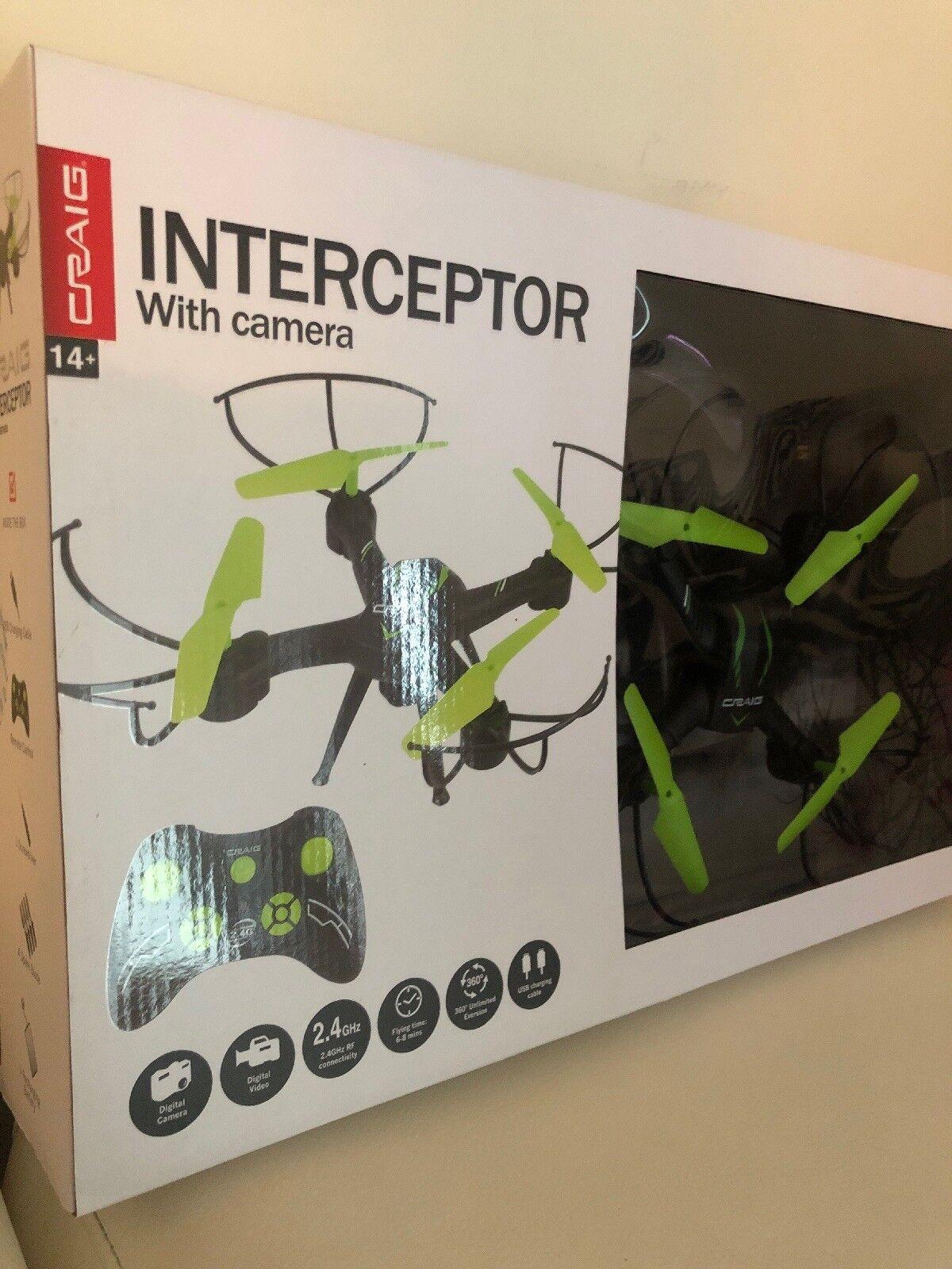 Craig  Interceptor  Drone DRONE con Cámara, justo a tiempo para Navidad
