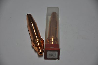 2 Oxy Acetylene Cutting Torch Tips 164-00 fits Airco New!