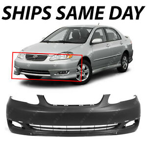 Image Is Loading NEW Primered Front Bumper Cover For 2005 2006