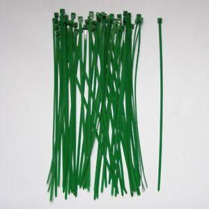 50-Green-Nylon-Cable-Ties-280mm-Garden-Zip-Tie