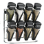 spice-rack-Trudeau-8PC-spice-jar-spice-stand-spices-included-wall-mount-drawer thumbnail 5
