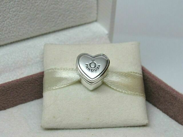 Genuine PANDORA Silver Our Promise Charm 798072CZ Engagement Wedding Ring  UK Hot