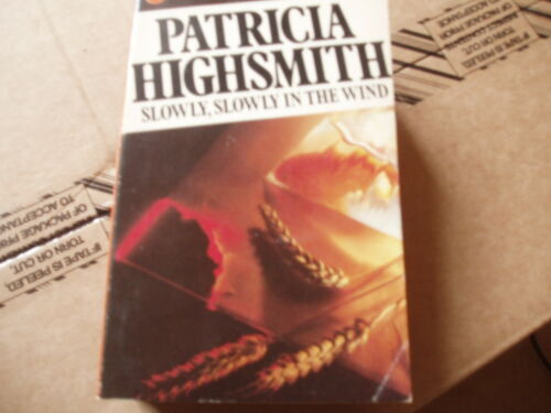 1 of 1 - SLOWLY SLOWLY IN THE WIND-PATRICIA HIGHSMITH-PB-ACCEPTABLE