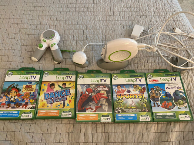 LeapFrog LeapTV Educational Video Gaming System for sale ...