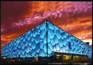Beijing-Olympics-Water-Cube-National-Aquatic-Center-postcard