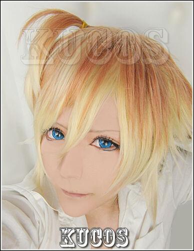 Nouveau Diabolik lovers Mukami kou Gradient Color Anime Costume cosplay perruque