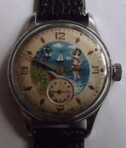 Antique Soviet Watch 1950s Kama