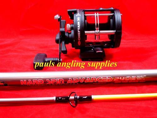 Lineaeffe Boat Fishing Rod 9 ft & Multiplier Reel