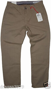 New-Ben-Sherman-Mens-Chino-Regular-Pants-in-Burnt-Gold-Colour-Size-W-30-L-32