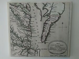 Reproduction-16x18-18th-century-034-Map-of-the-Maritime-Parts-of-Virginia-034