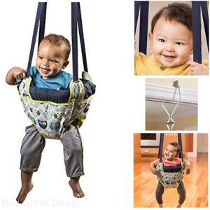 Baby-Bouncy-Seat-Doorway-Bumper-Swing-Owl-Jumper-Exerciser-Safe-Play-Toy-New