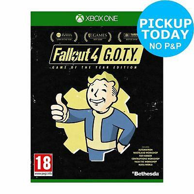 Fallout 4 GOTY Edition Xbox One Game. From the Official Argos Shop on ebay