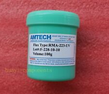 100g AMTECH RMA-223-UV Flux Soldering Paste New