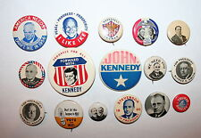 16 Various President Campaign Button Political Pinback Pin Reproduction Lot
