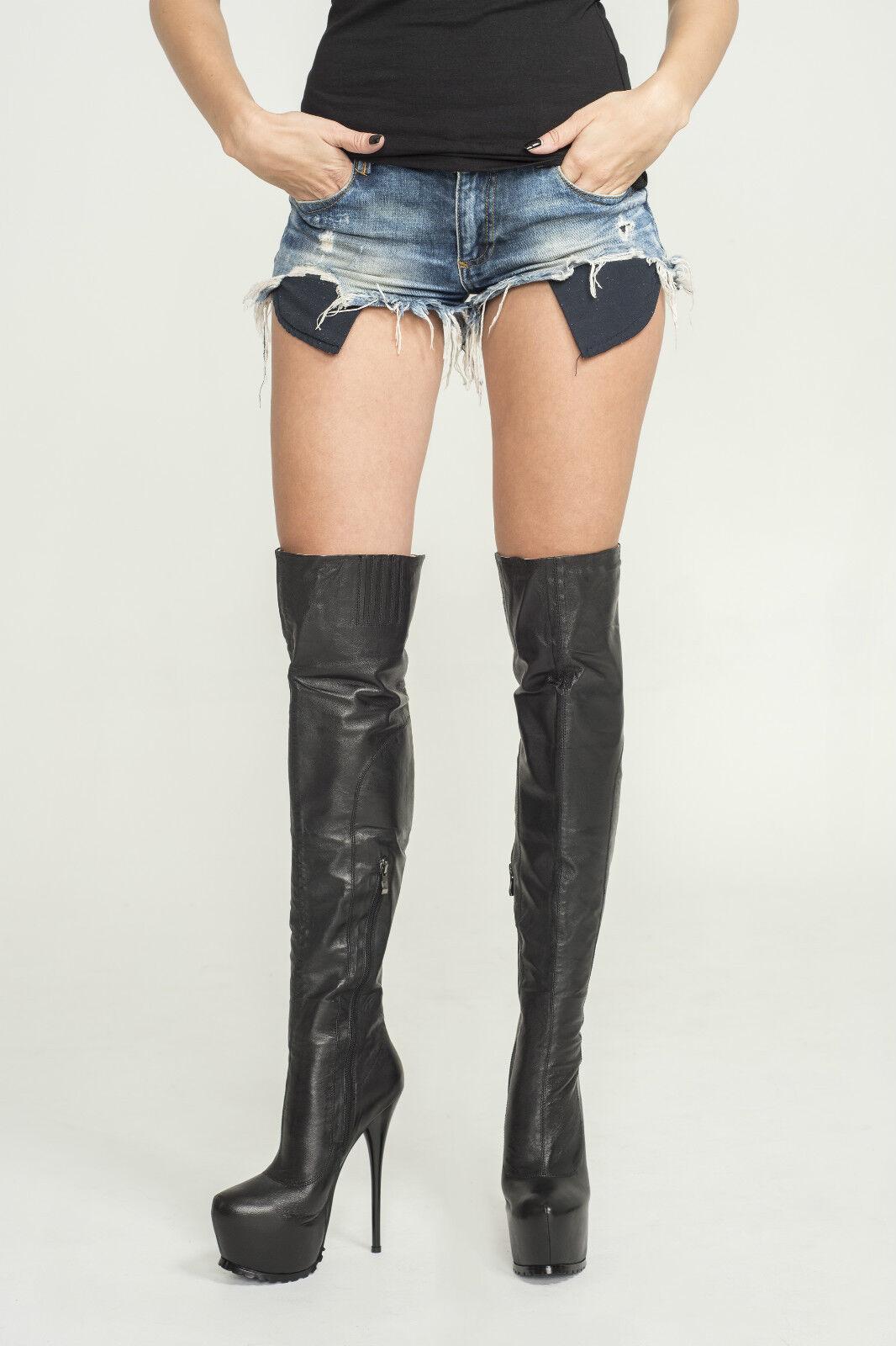 AROLLO Overknee Stiefel ANNA3 Special Edition Größen 37,38,39,40,41,42