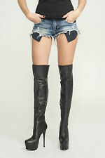 AROLLO Overknee Stiefel ANNA3 Special Edition Größen 37,41,42