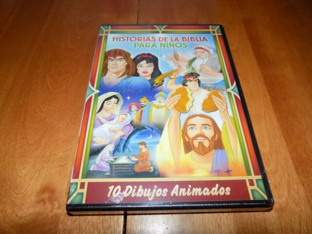 Bible Stories For Kids 10 Animated Tales Dvd 2015 2 Disc Set