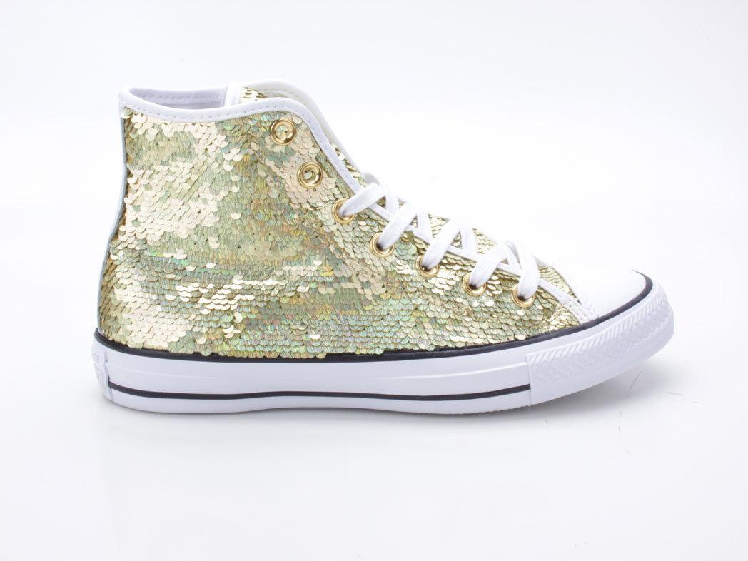 Converse Chuck Taylor All Star GOLD-BIANCO-NERO ALM HI 553439c GOLD-BIANCO-NERO Star 89f823