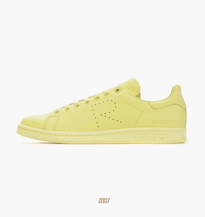 Raf Simons Stan Smith Adidas bluesh Yellow Size 11Men's