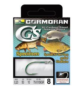 Gr.8 Cormoran CGS Vorfachhaken für große Weissfische Specimen