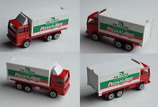 "Majorette - Container-LKW rot/weiß ""Restaurant Pizza Del Arte"""