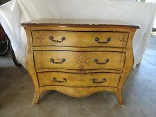 Bombay Dresser Curved French Bureau Provincial Painted Buffet Country STY TAN