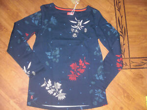 8 Jersey Top 16 12 14 Joules Harbour Uk Fay Floral New Sz Navy French wxaY0Zpvq