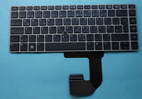 Original Tastatur HP Compaq EliteBook 8460P 8470p 8470w 6460B silber Keyboard