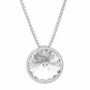 Crystaluxe-Circle-Pendant-with-White-Swarovski-Crystals-in-Sterling-Silver