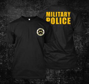 Military-Police-US-Custom-Men-039-s-T-Shirt-Tee